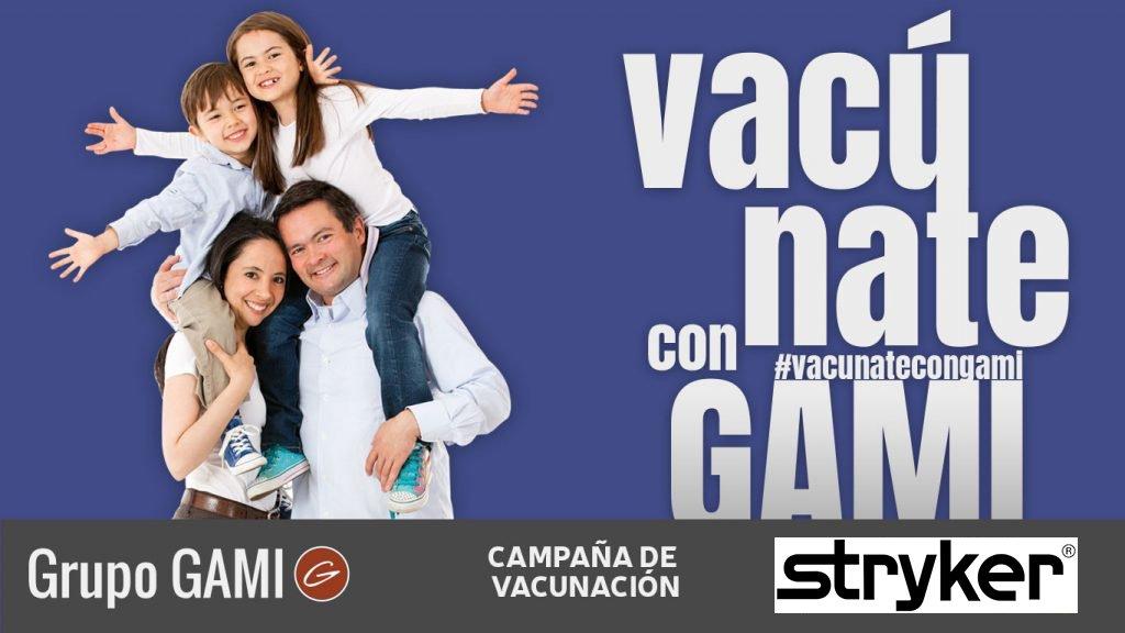 Campaña de Vacunación (VACÚNATE CON GAMI) Stryker – Día 1